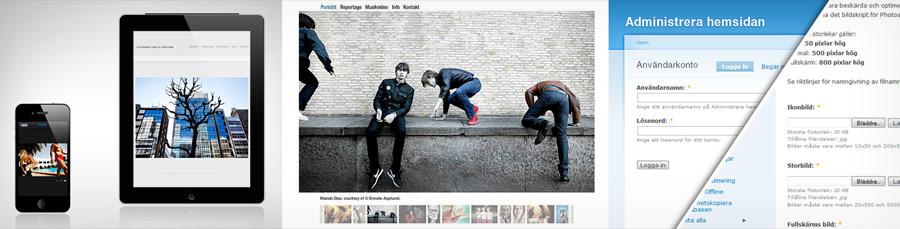 webb portfolio iPad portfolio